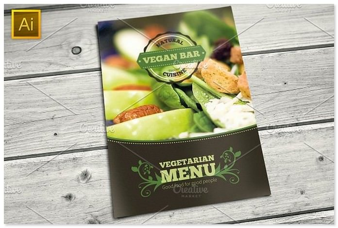 Vegetarian Holiday Restaurant Food Menu