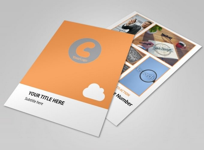 Web Design & SEO Flyer Template