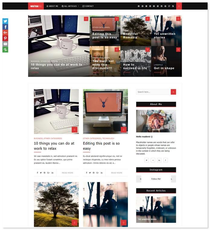 WriterPRO - Premium Newspaper