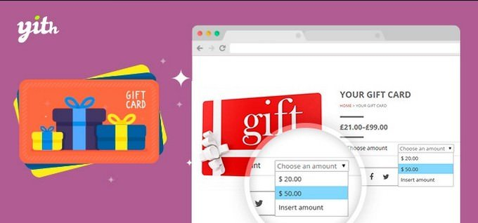 YITH Woo-commerce Gift Cards