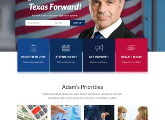 inForward - Political HTML Template