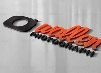 3D Logo Mockups V.2