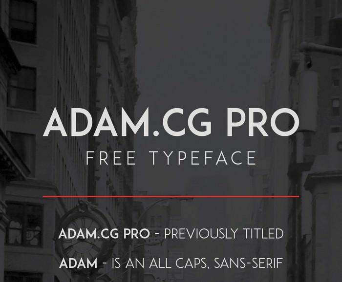 Adam .cg Pro