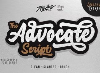 Advocate Sticker Script 4 Style + Extras