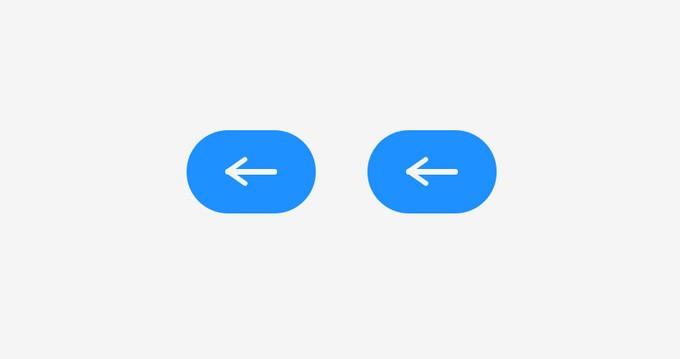 Arrow icon Animation