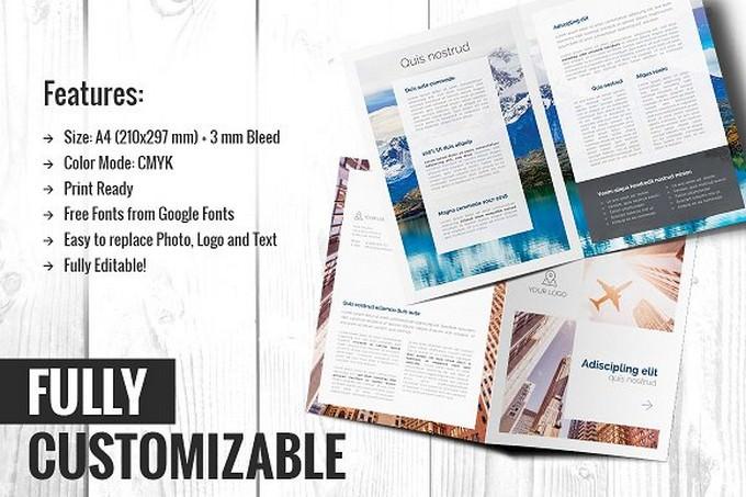Attorney Bi-fold Brochure