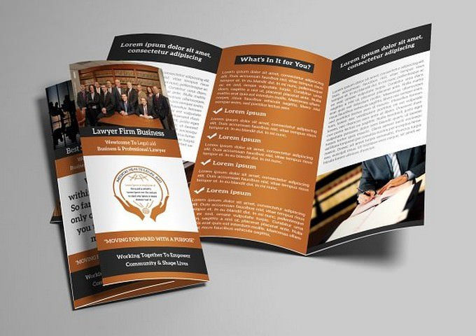 Attorney Trifold Brochure