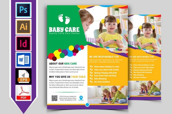 Baby Care Flyer Vol-03