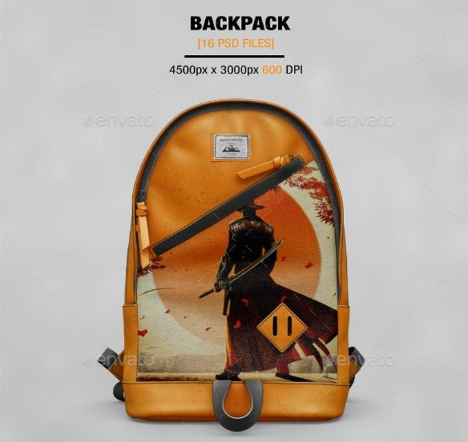 BackPack Mockup # 3