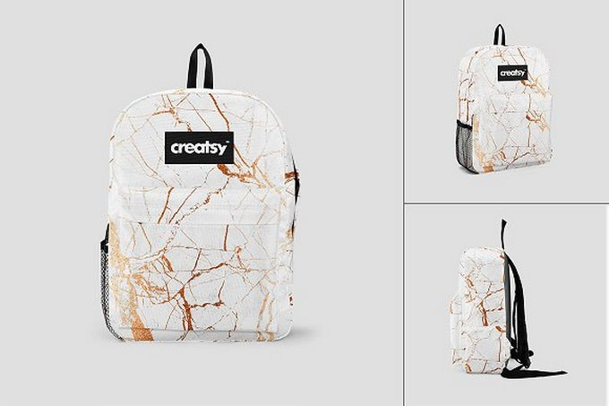 Backpack 2 Mockup Set