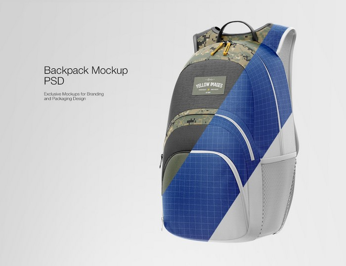 Backpack PSD Mockup