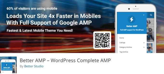 Better AMP – WordPress Complete AMP