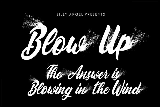 Blowup Personal Use Font
