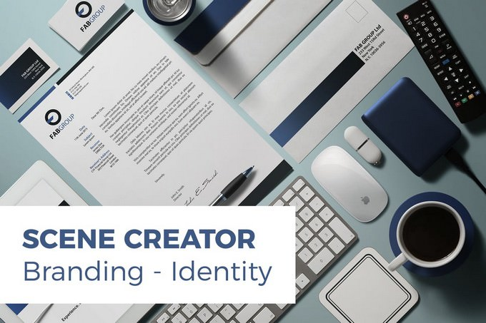 Branding Identity Scene Creator