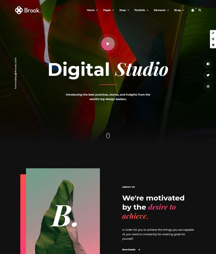 Brook - Creative Agency