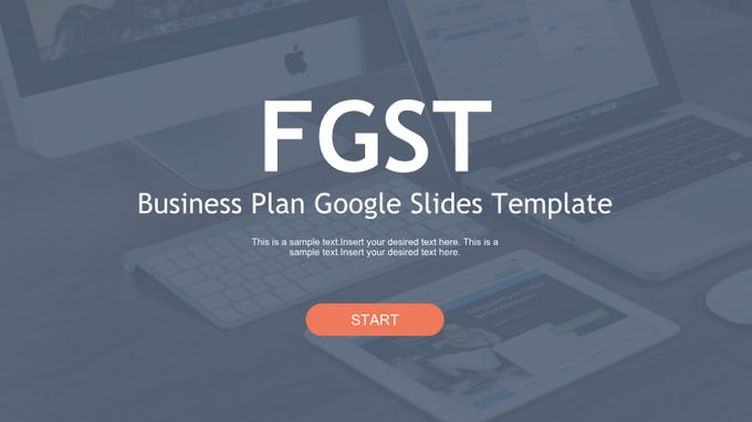 Business Plan Google Slides Templates