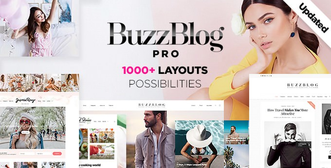 BuzzBlog - Massive Multi-Purpose WordPress Blog Theme