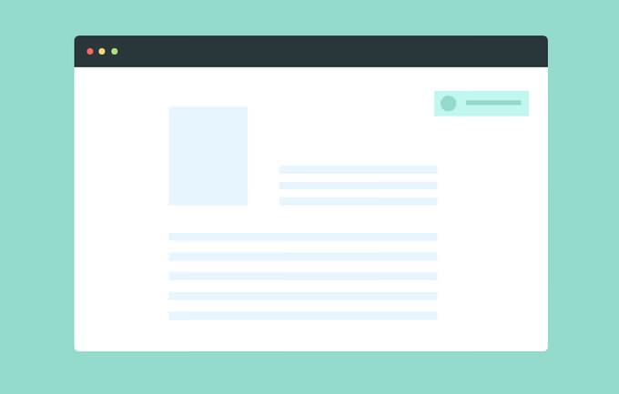 CSS Animated Web Notification
