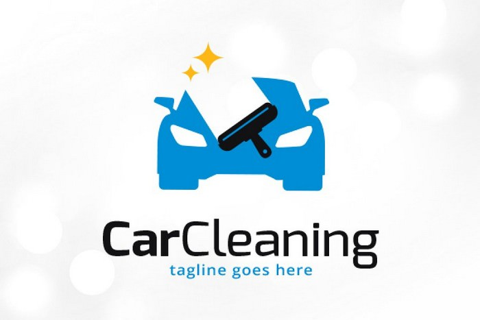 Car Cleaning Logo Template