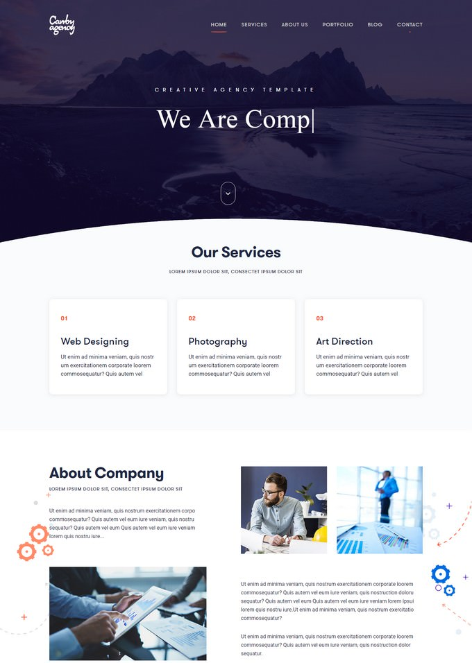 Carrby - Agency HTML Template