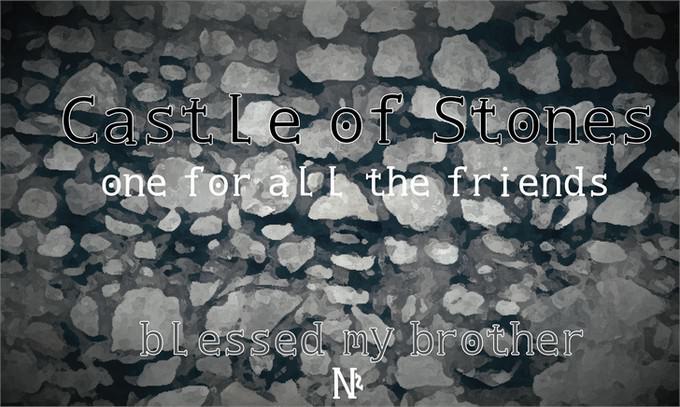 Castle of Stones Font