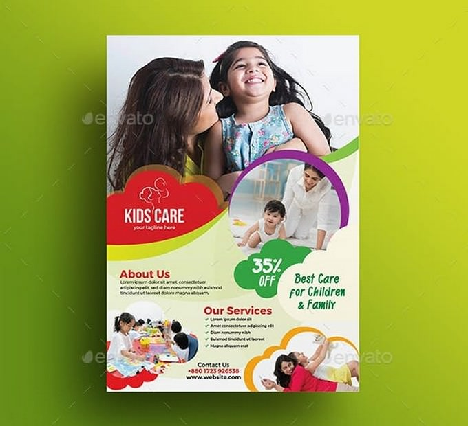 Child-day Care Flyer