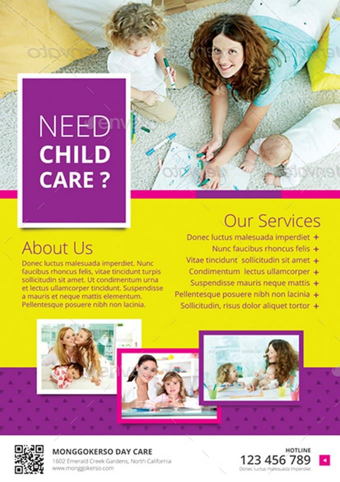 Childcare - Daycare Flyer