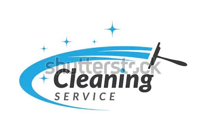 Cleaning Clean Service Logo