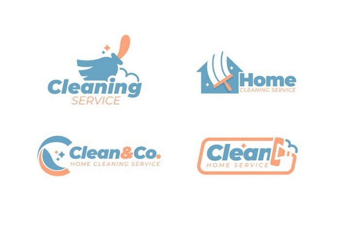 Cleaning- Logo- Style Collection