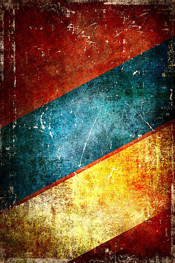Colored vintage paper background