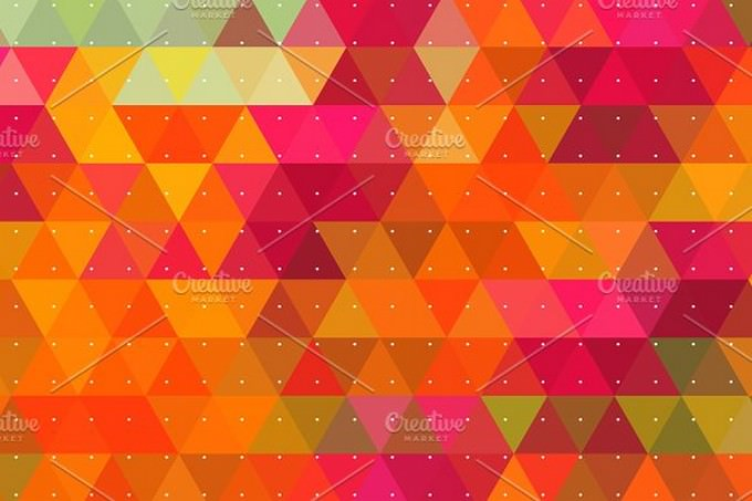 Colorful Triangle Backgrounds.