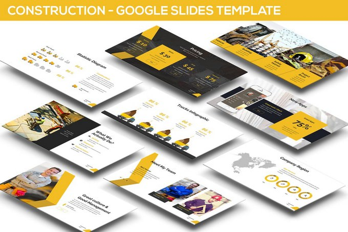 Construction Google Slides Presentation