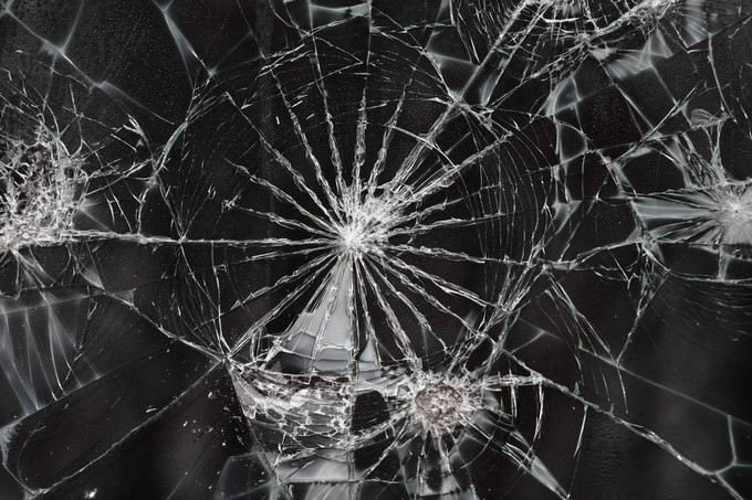 Cracked Glass Texture I