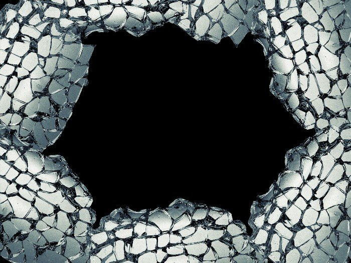 Cracked Glass Transparent Background