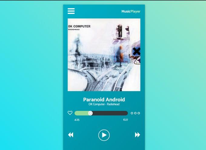 Daily UI #009 Music Player (Redone)