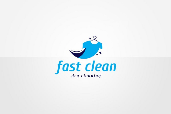 Dry Cleaning Logo Template