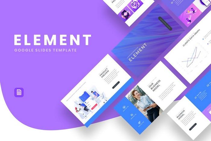 Element Business Google Slides