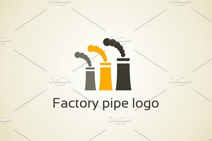 Factory Pipe Logo