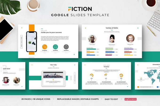 Fiction Google Slides Presentation