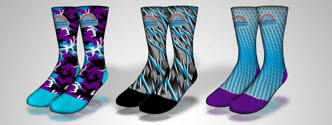Free Psd Full Hd Athletic Sock Mockup