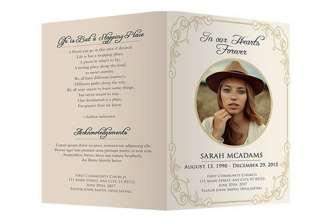 20 Best Funeral Services Brochure Templates Designs