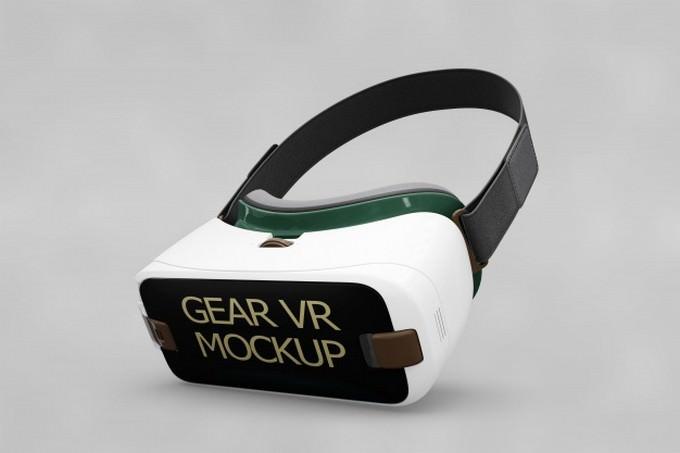 Gear VR Mockup Free