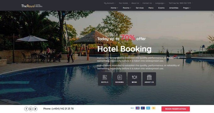 Hotel - Hotel Booking Template