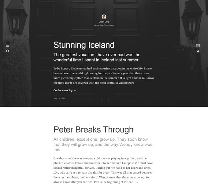 Imago - WordPress Theme