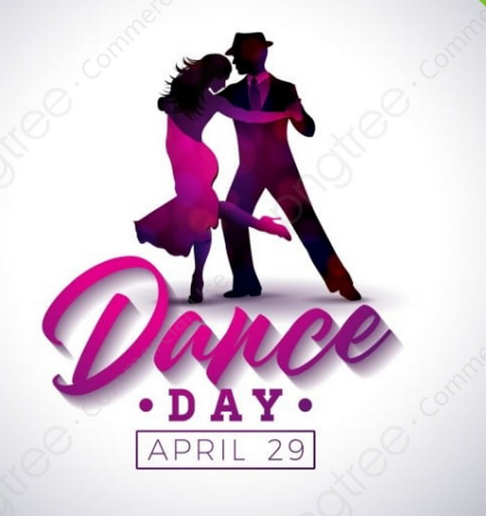 International Dance Day Vector