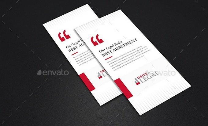 Legal Corporate Attorney Tri-Fold Brochure V06