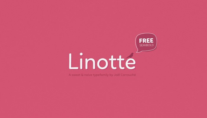 Linotte type family