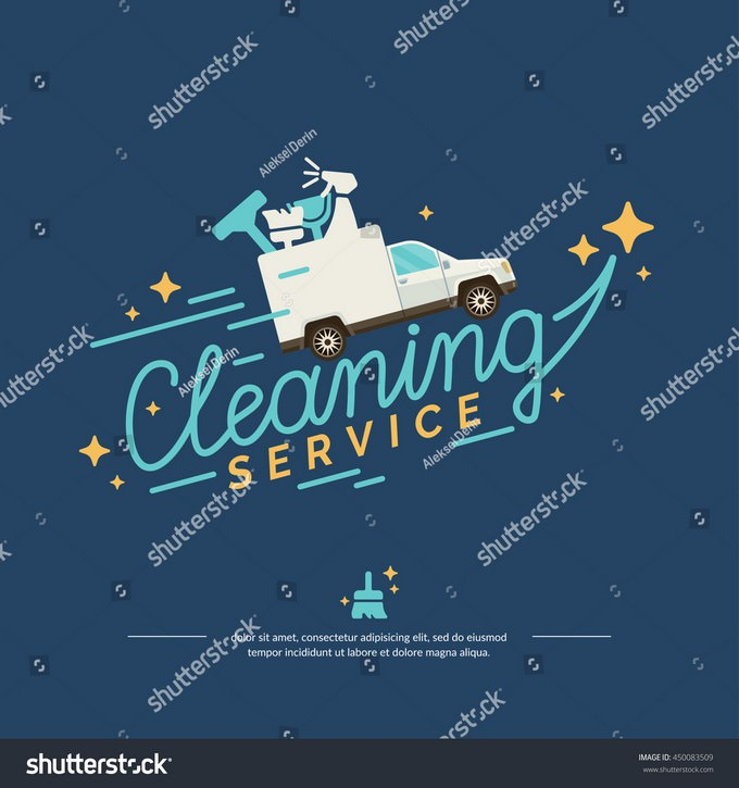 Logo For A Cleaning Service