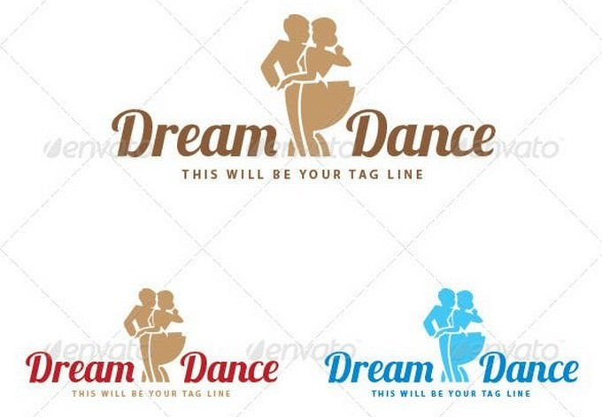 Logo of A Couple Dancing