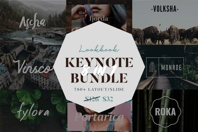 Lookbook Keynote Big Bundle